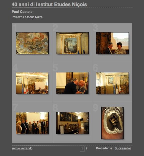 galleria Institut Etudes Nicois Paul Castela screenshot
